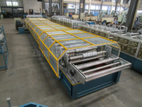 Automatic Mitsubishi controller Metal Roof Roll Forming Machine with ISO Certificate