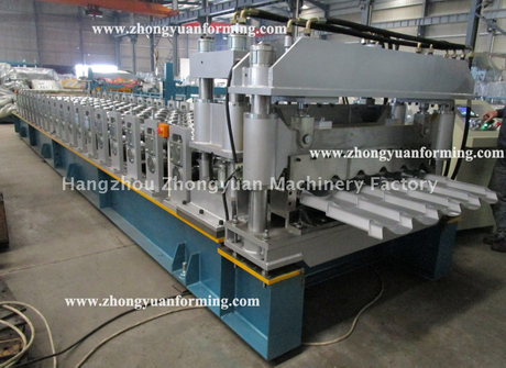 Metal Step Tile Roll Forming Machine/Glazed Tile Roll Forming Machine