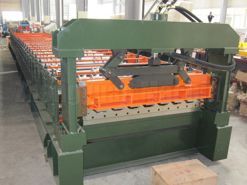 European Standard R101 Steel Roller Machine/R101 Roof Panel Roll Forming Machine with SGS