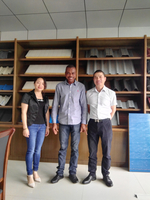 Customers visited for Aluminium Step Tile Roll Forming Machine on June 02