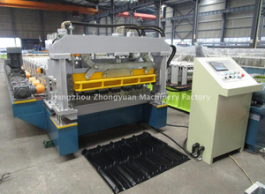 High Production Speed Taiwan Quality Metal Glazed Tile Forming Machine with ISO Quality System