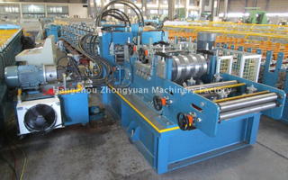 European Standard 15 Years Lifetime Automatic CZ Purlin Roll Forming Machine with ISO Quality System