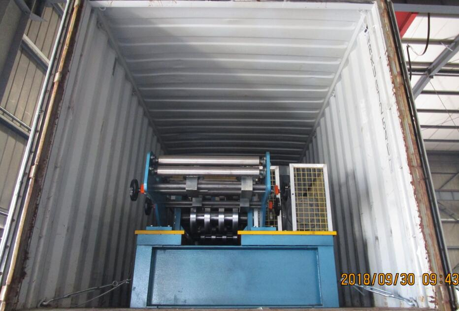 Delivery of automatic CZ purlin cold forming equipment to Hungary on September 30,2018