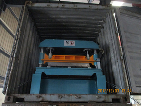 High speed deck roll forming machine with ISO quality system to Mexico On December 03,2018