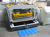 Metal Tile Roll Forming Machine