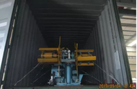 Delivery of Zhongyuan clip roll forming machine on September 04,2019